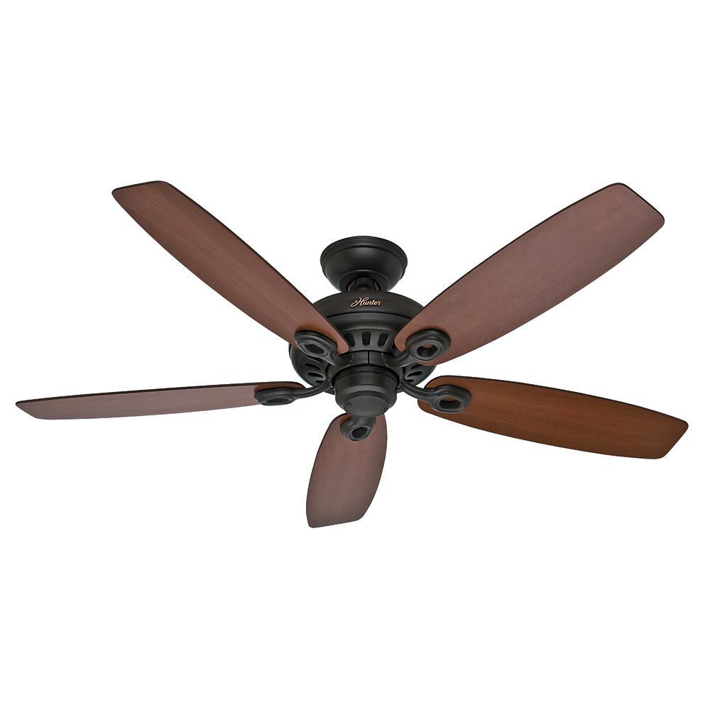 Hunter Markham 52 in. Indoor New Bronze Ceiling Fan-54110 ...