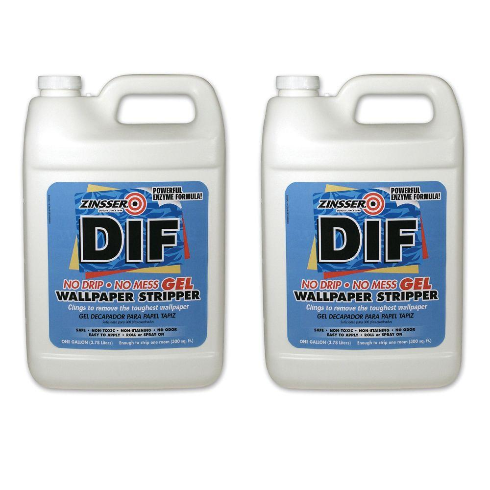 Zinsser DIF 1 gal. Ready-To-Use Wallpaper Remover (2-Pack)-DISCONTINUED