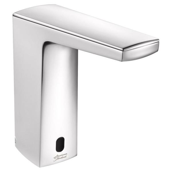 Paradigm Selectronic Battery Powered Single Hole Touchless Bathroom Faucet with SmarTherm 0.5 GPM in Polished Chrome