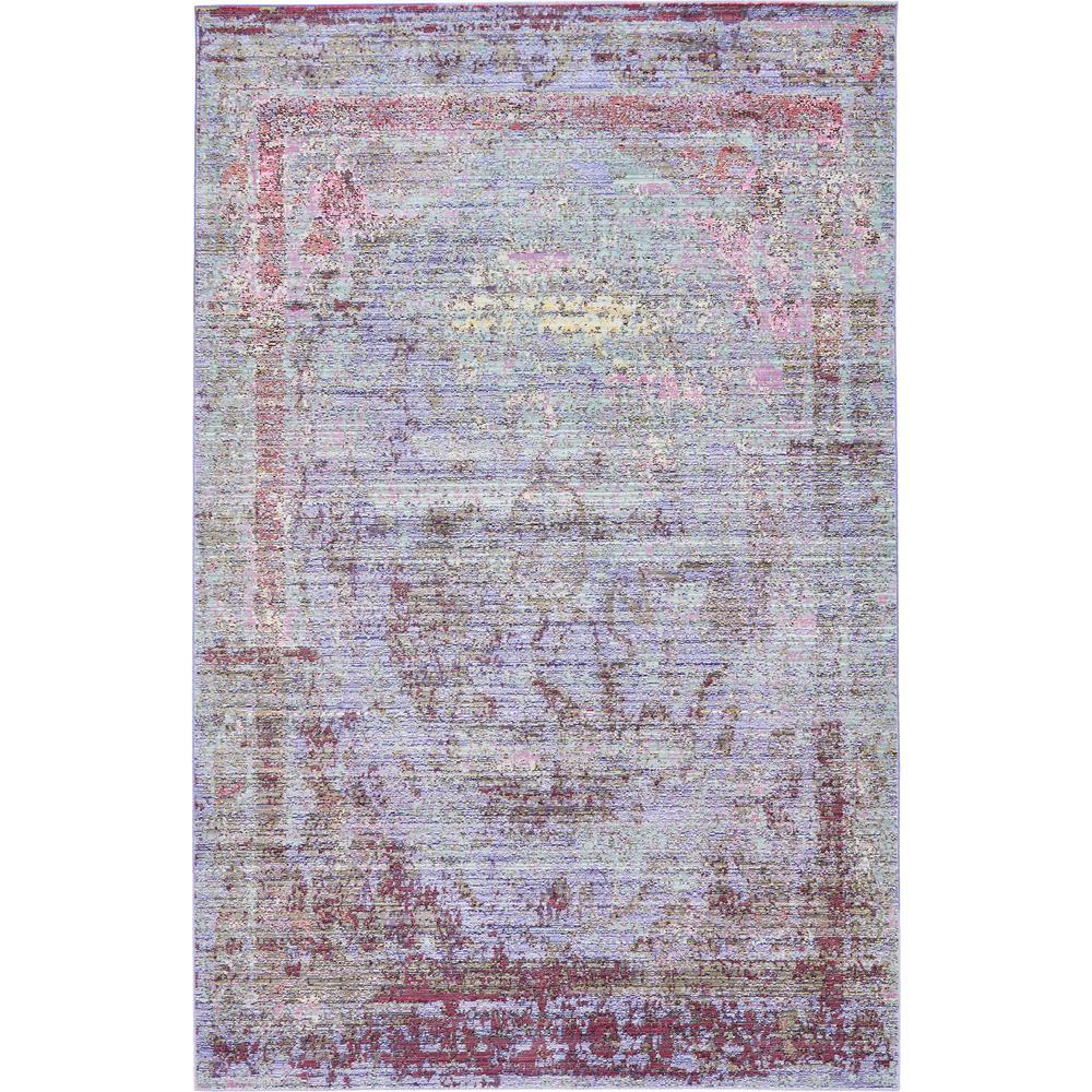 Aria Violet 5 ft. x 8 ft. Area Rug