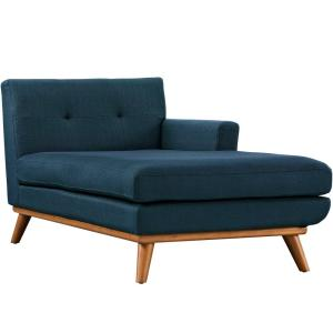 Engage Azure Right-Facing Chaise