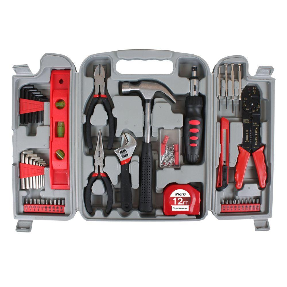 iWork Multi Purpose Tool Set with Case (89-Piece)