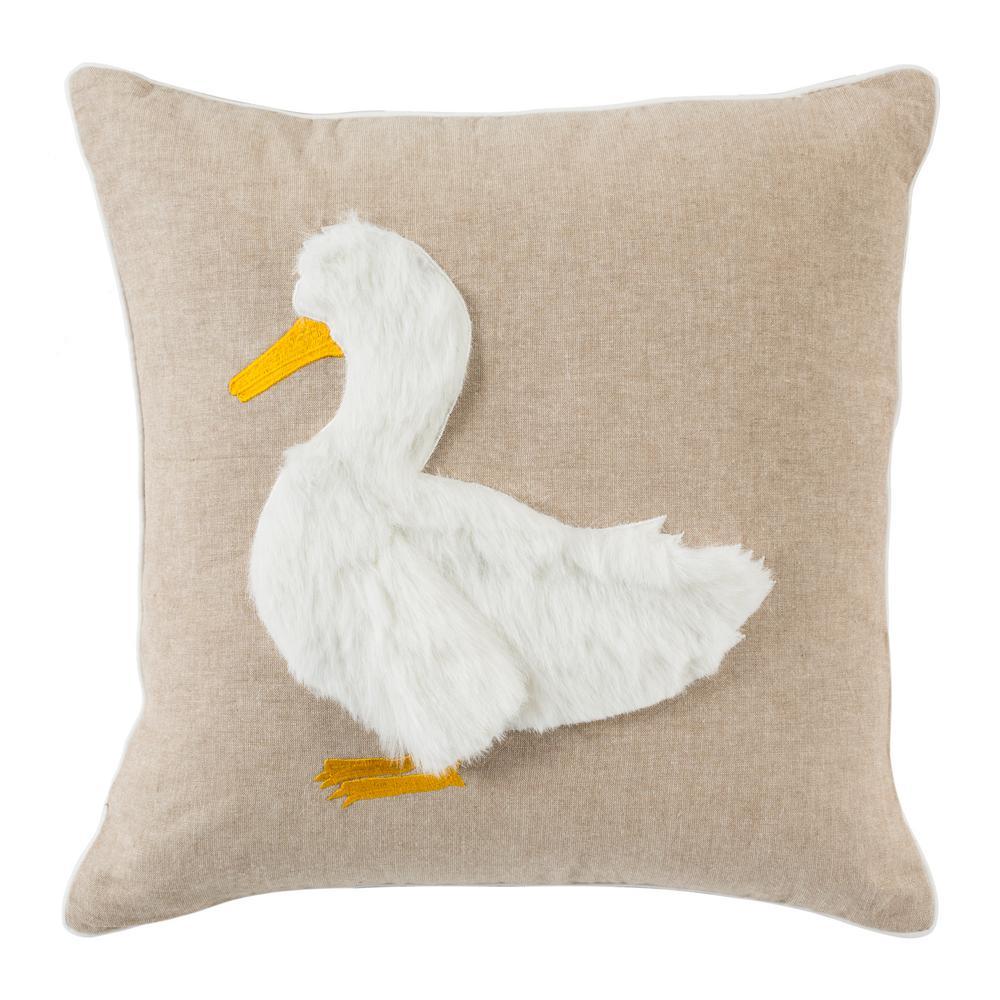 Quackadilly Goose Standard Pillow