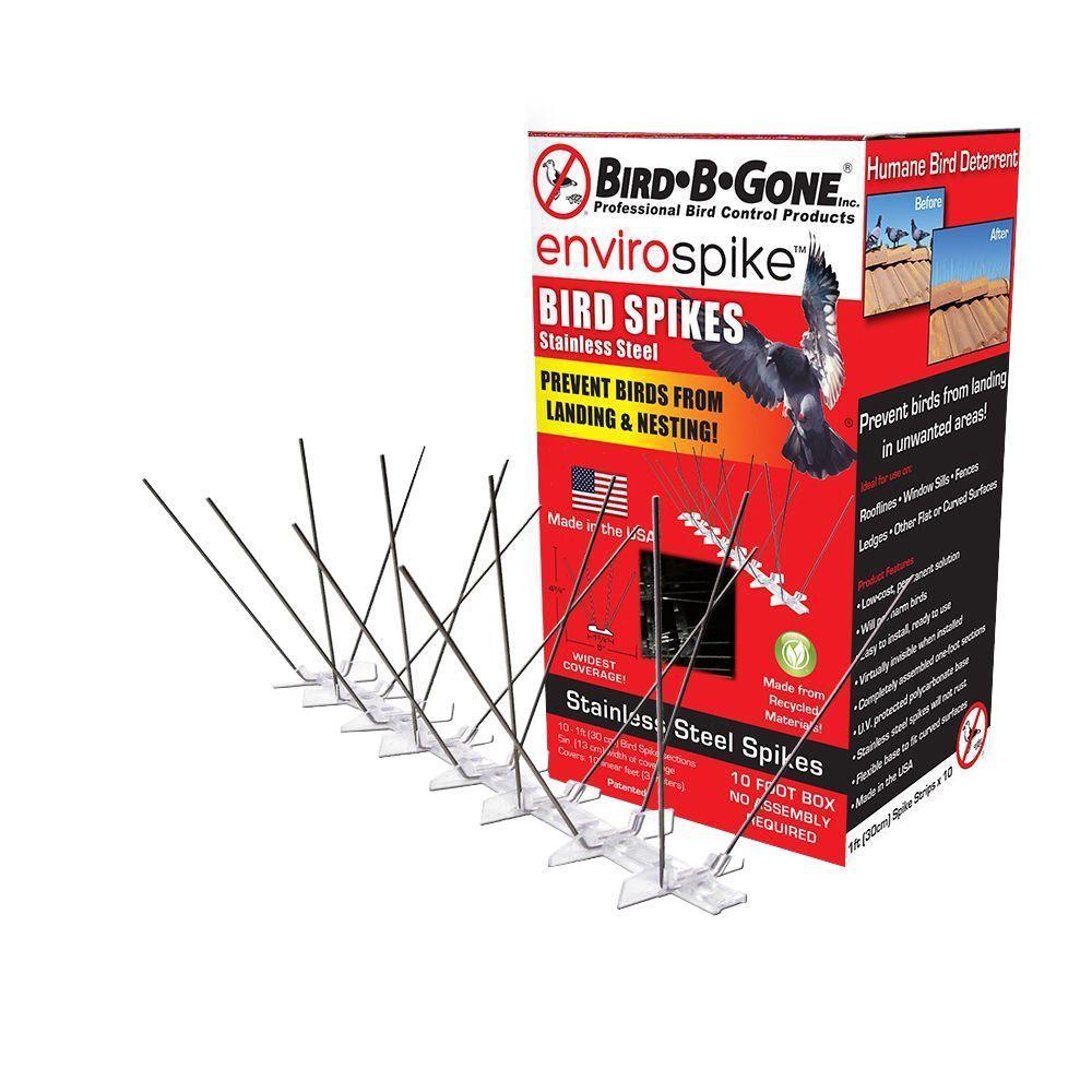 Enviro Spike 10 ft. x 5 in. Stainless Steel Bird Spikes