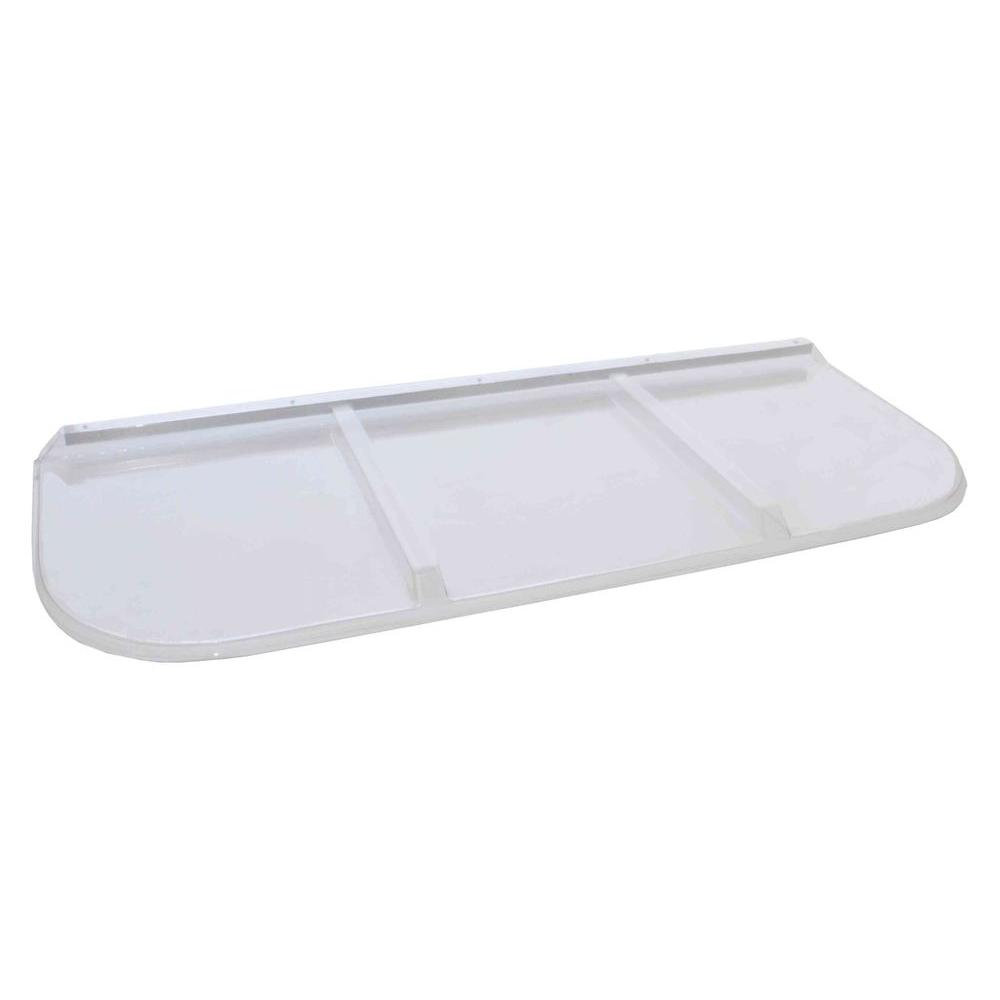 Shape Products 65 in. x 26 in. Polycarbonate Rectangular Window Well Cover