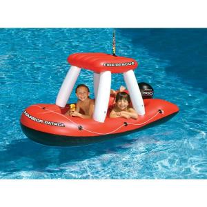 Swimline Fireboat Squirter Inflatable Pool Toy by Swimline