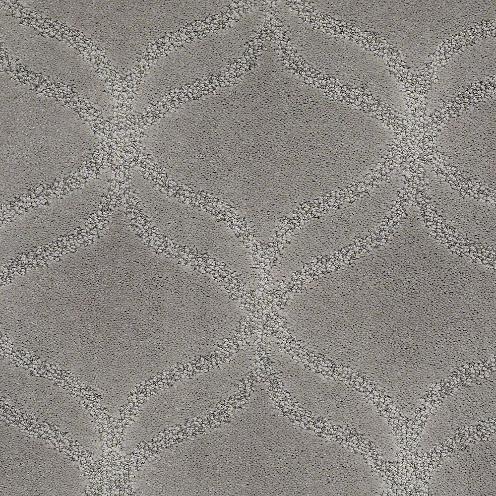 Carpet Sample - Kensington - In Color Bedrock 8 in. x 8 in.