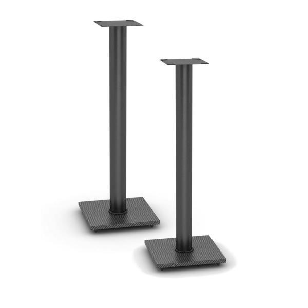 Atlantic Adjustable Bookshelf Speaker Stand In Black 77335799 The