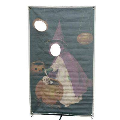 72.75 in. Witch Photo Banner