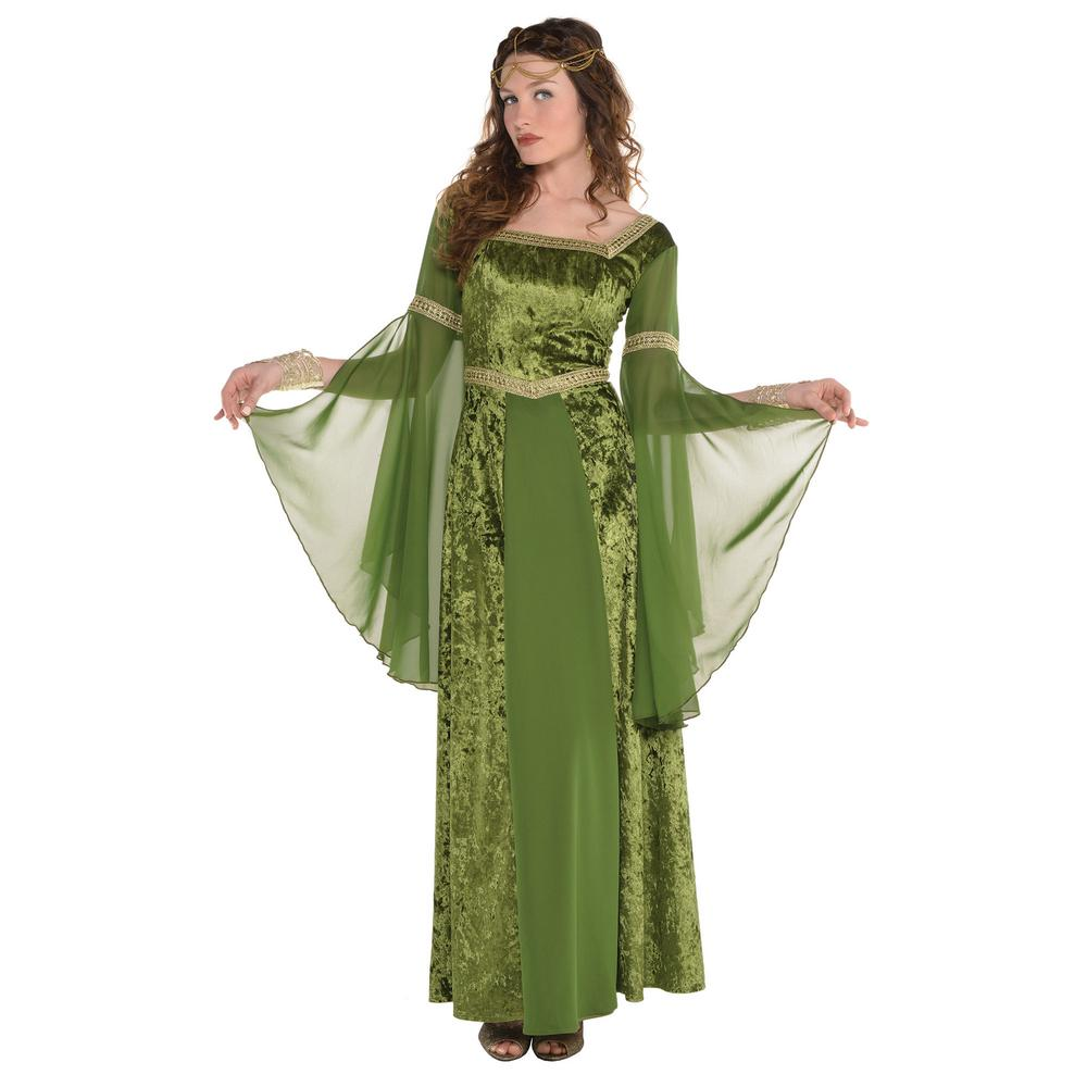 bc121a7a026 Amscan Womens Renaissance Gown Halloween Costume-849948 - The Home Depot