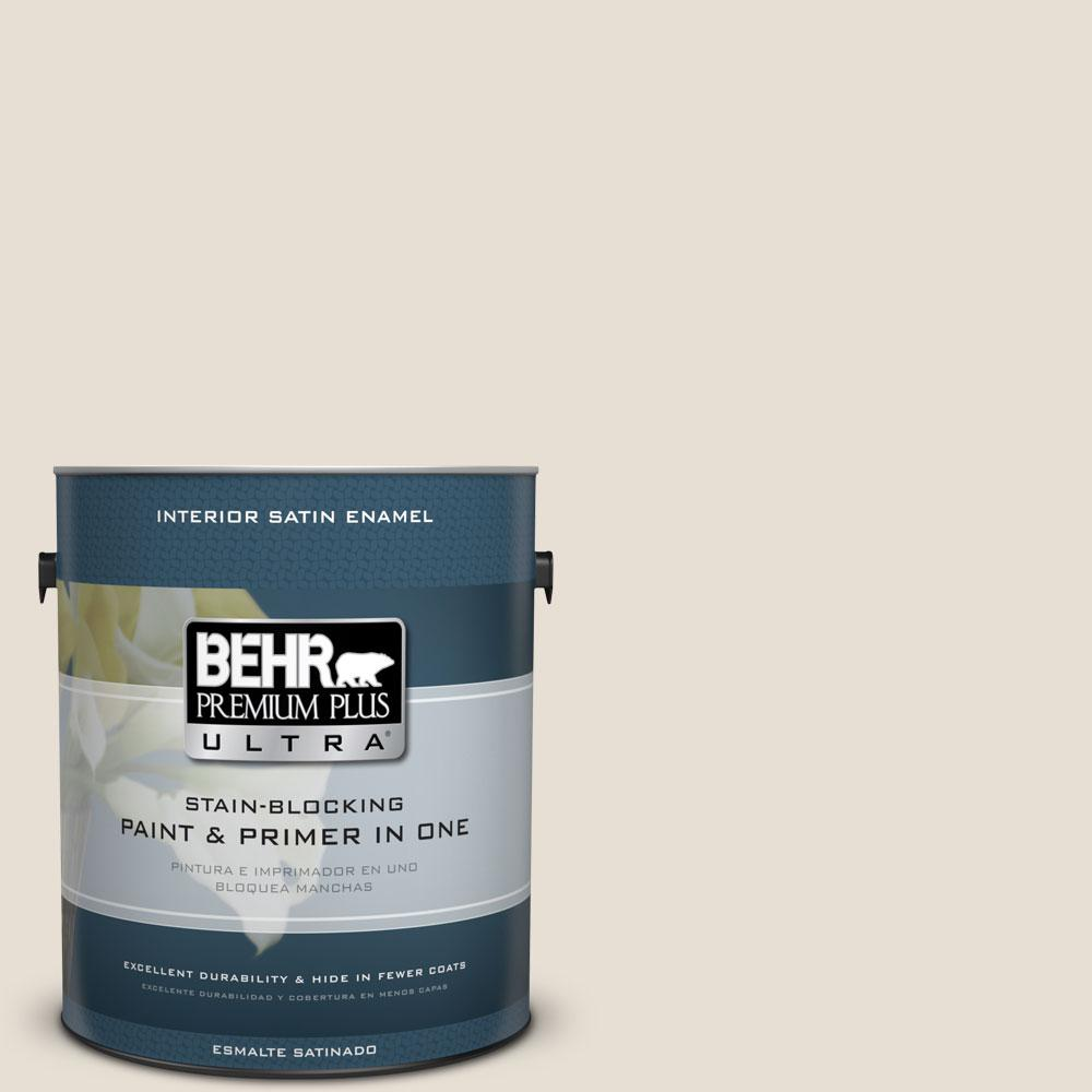 73 Off White Satin Enamel Interior Paint And Primer
