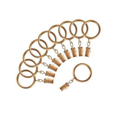 Wire Rings in Bronze-Dore (10-Pack)