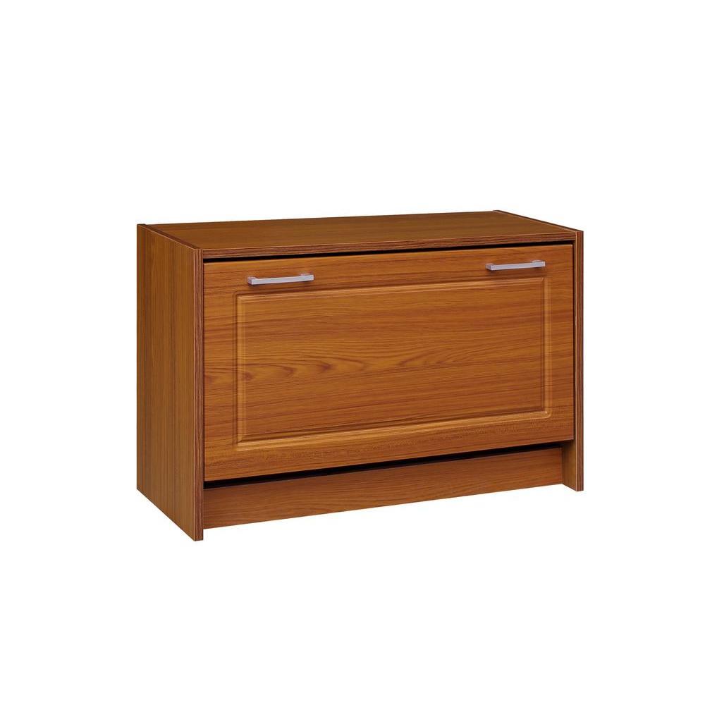 29 in. W Oak Single Shoe Cabinet