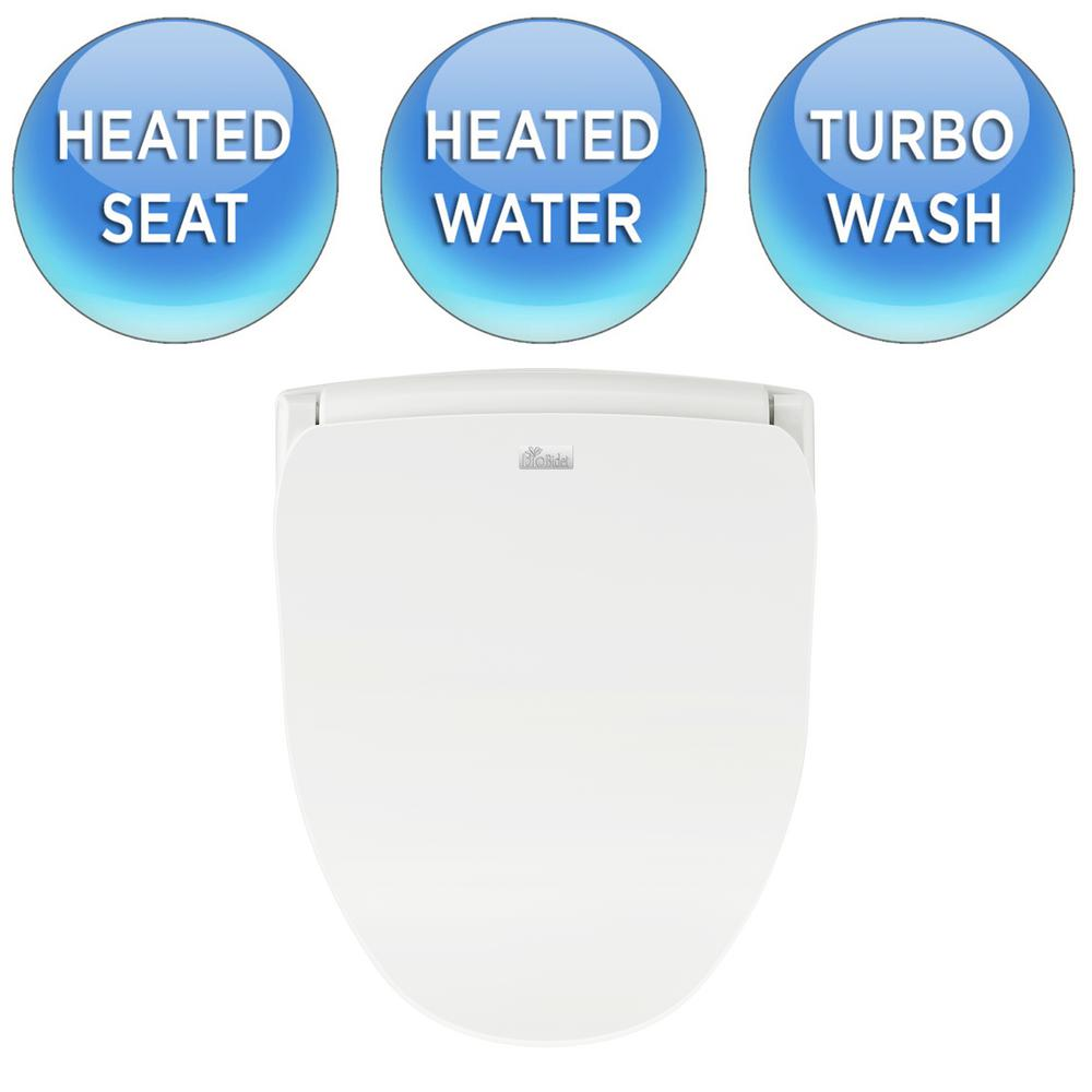 Magnificent Details About Electric Bidet Toilet Seat Elongated Sprayer Heated Washer Warm Water Remote Bralicious Painted Fabric Chair Ideas Braliciousco