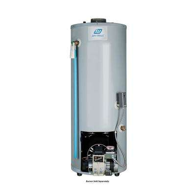 50 Gal. Tall Residential Oil-Fired Center Flue Tank Water Heater Only (Burner Sold Separately)