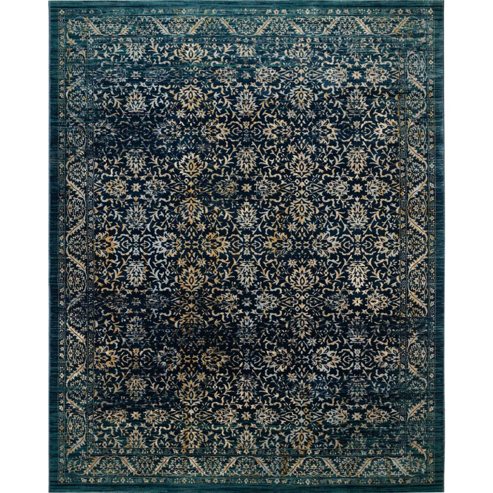 Safavieh Evoke Navy Gold 9 Ft X 12 Ft Area Rug Evk507a 9