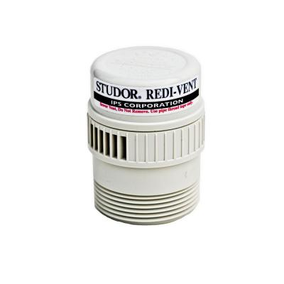 Redi-Vent 20346 Air Admittance Valve with PVC Adapter, 1-1/2- or 2 in. Connection