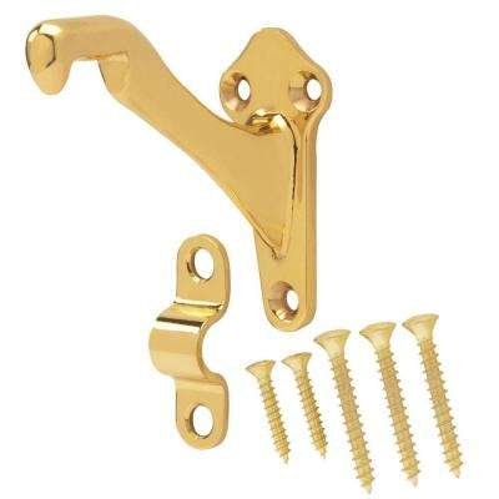 Solid Brass Handrail Bracket