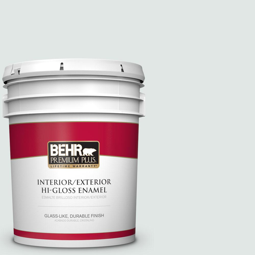 5 gal. #PPU13-17 Fresh Day Hi-Gloss Enamel Interior/Exterior Paint