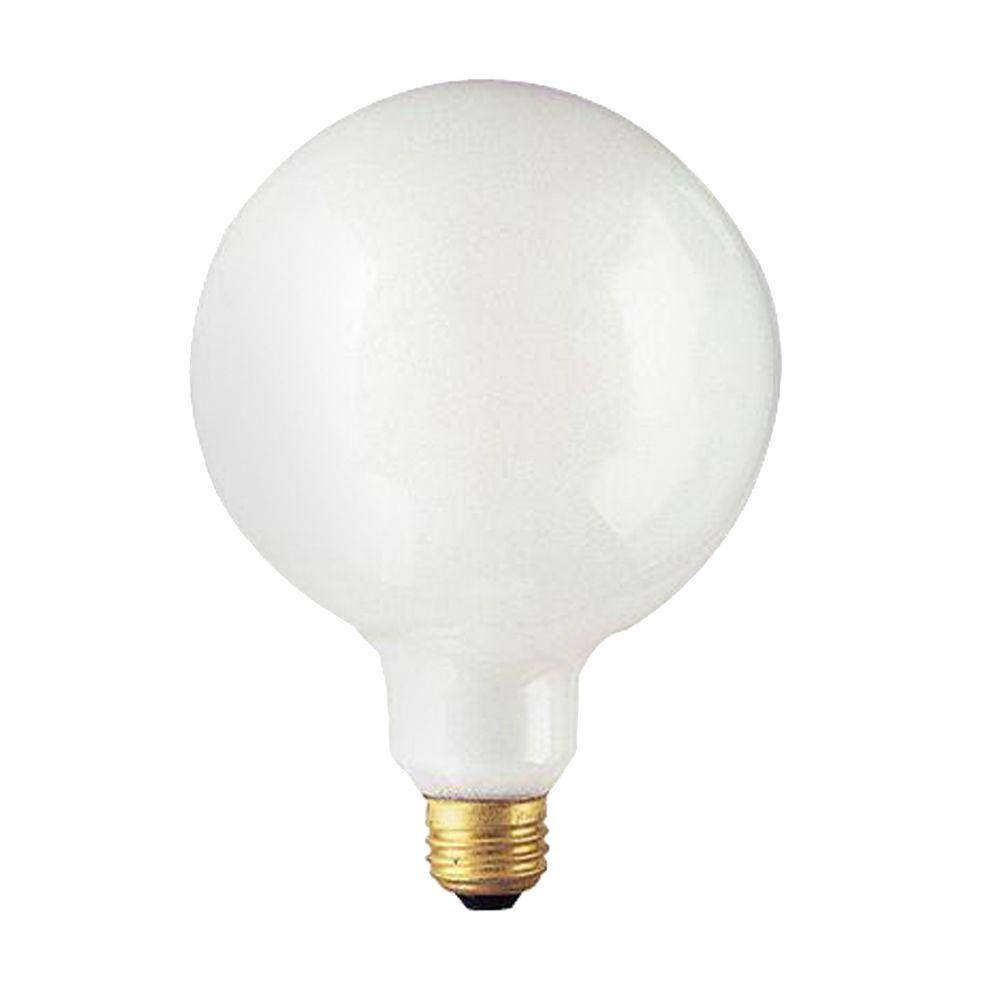 Bulbrite 60-Watt Incandescent G40 Light Bulb (10-Pack)