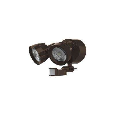 24-Watt Bronze Outdoor Integrated LED Area Light