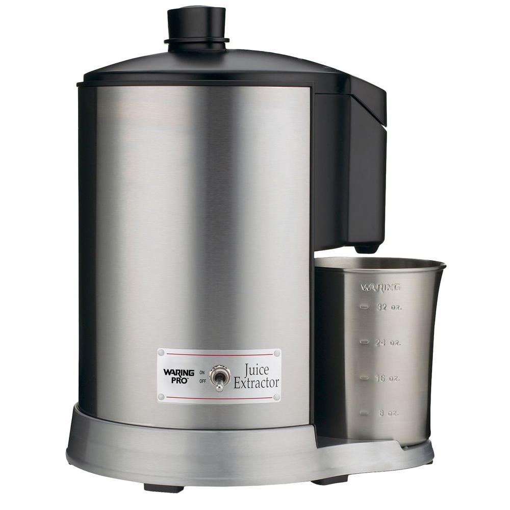 Waring Pro Juice Extractor in Brushed Stainless