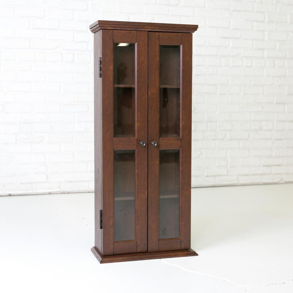 Walker Edison Furniture Company Traditional Brown Storage