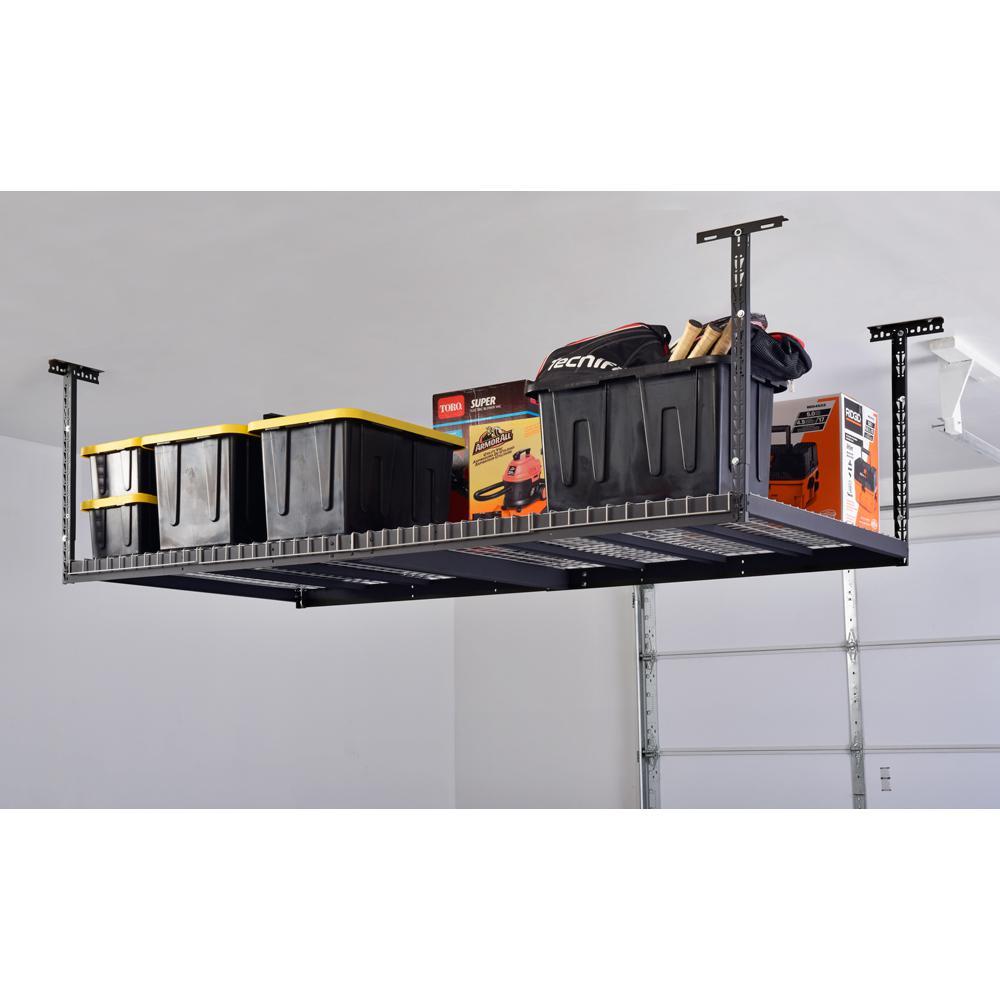 Husky 42 In H X 96 W 32 D, Garage Ceiling Storage Racks