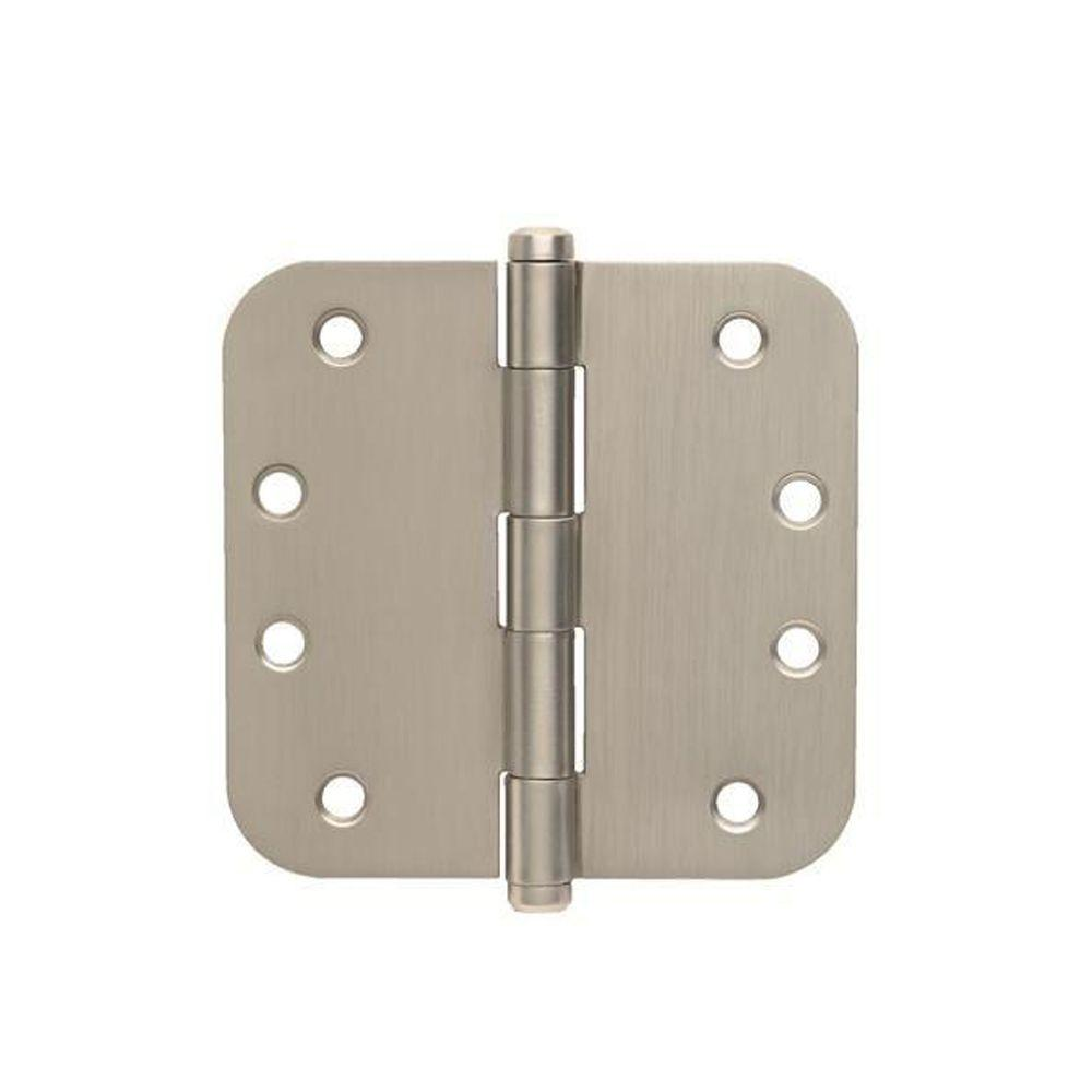 Schlage 3 1 2 In X 1 4 In Radius Satin Nickel Steel Door