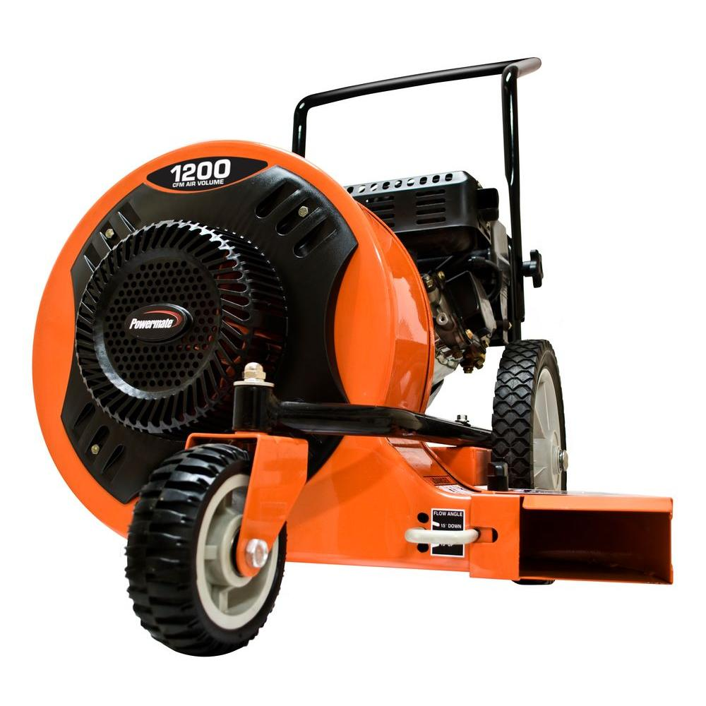 Powermate Cyclone 150 MPH 1,200 CFM Walk-Behind Gas Leaf Blower