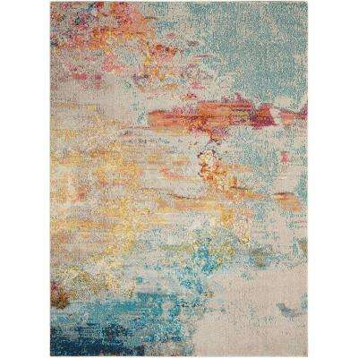Celestial Sealife 3 ft. 11 in. x 5 ft. 11 in. Area Rug