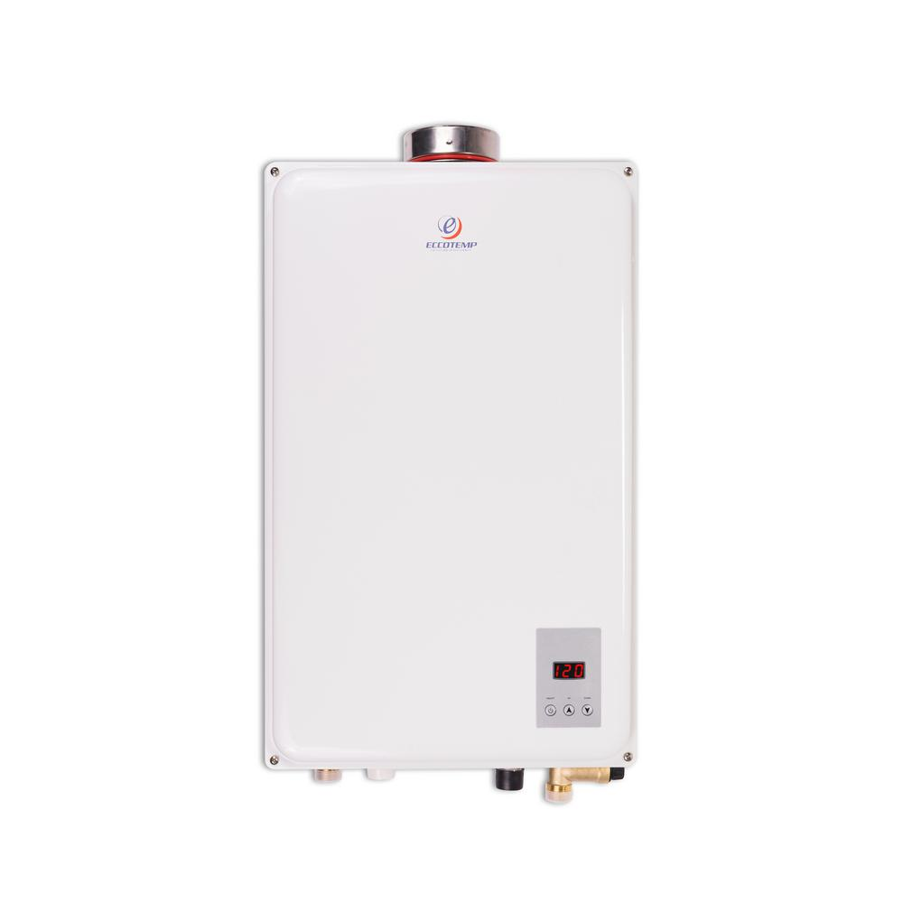 ecosmart 27 kw self modulating 5 3 gpm electric tankless water heater eco 27 the home depot. Black Bedroom Furniture Sets. Home Design Ideas