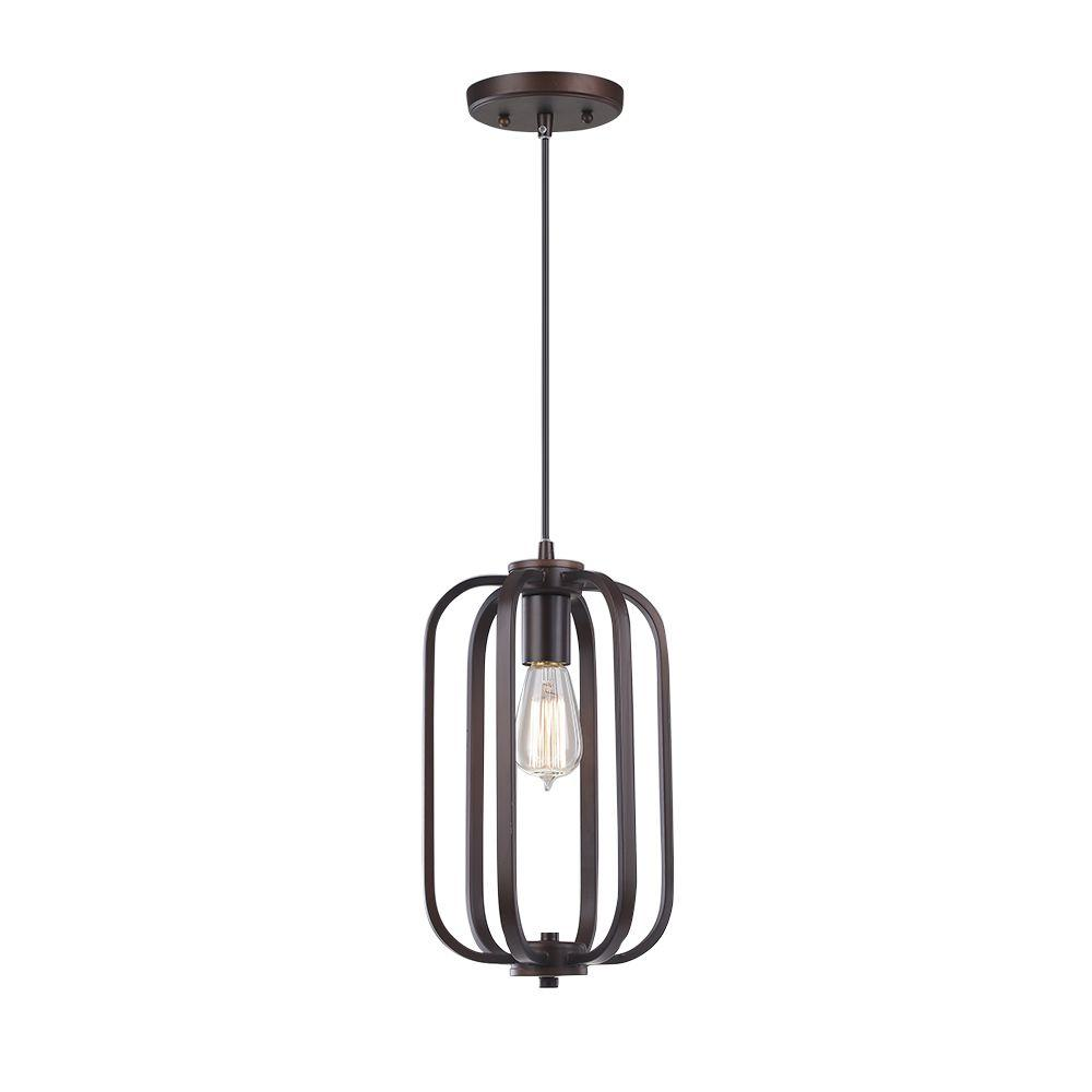 Monteaux Lighting 1-Light Bronze Metal Pendant was $107.96 now $69.99 (35.0% off)
