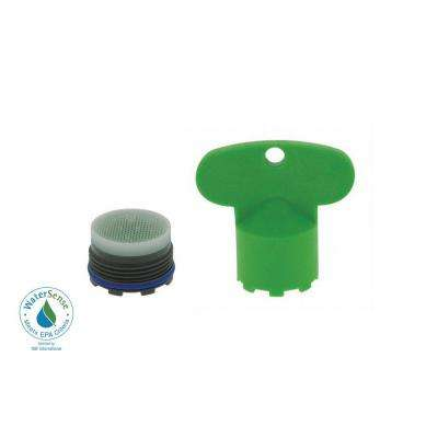 1.5 GPM Tiny Junior Size PCA Cache Water-Saving Aerator with Key