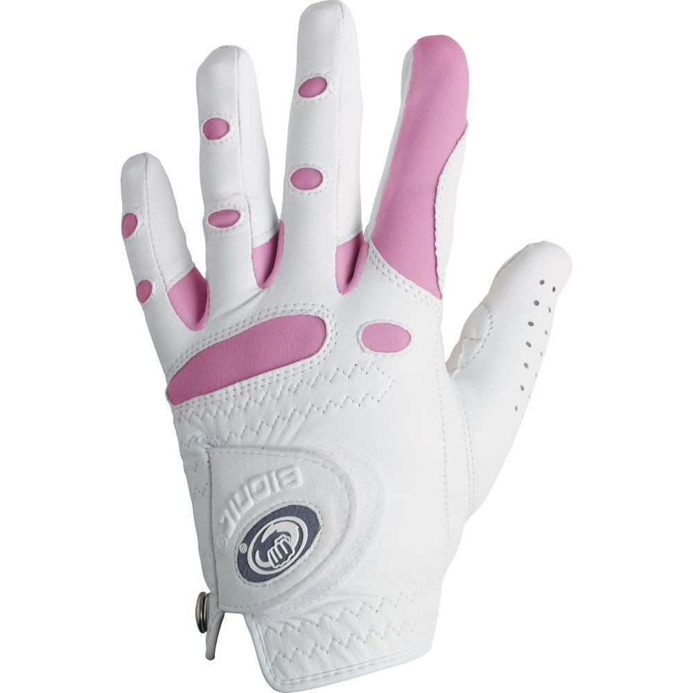 Bionic Glove StableGrip Golf Women's White/Pink Left X-Large