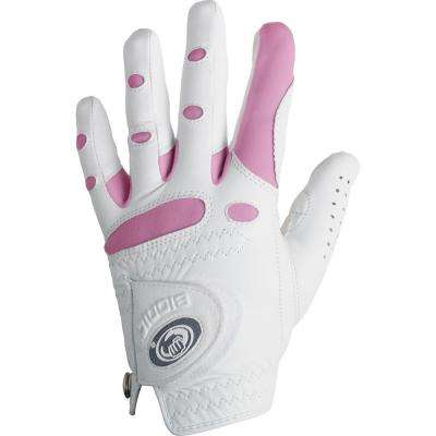 StableGrip Golf Women's White/Pink Right X-Large