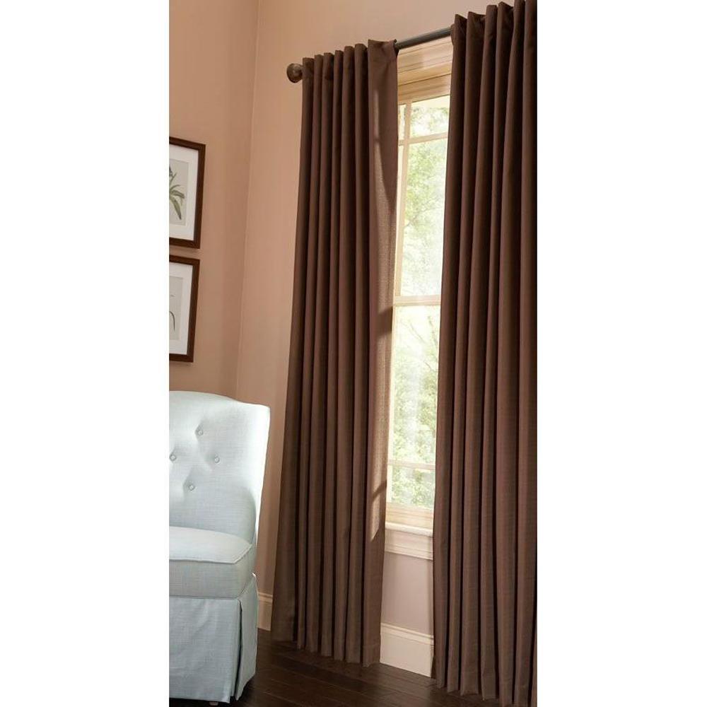 Martha Stewart Living Thermal Crepe Blackout Window Panel