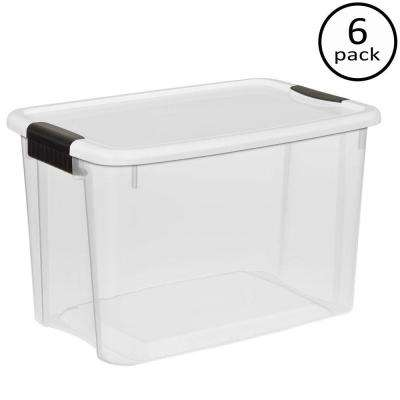 30 Qt. Ultra Storage Latch Box (6-Pack)