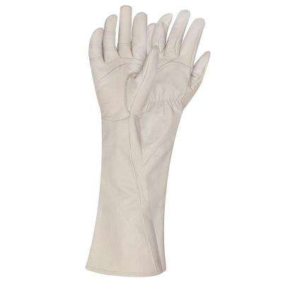Medium Rose Gauntlet Gardening Gloves