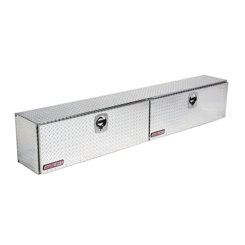 Weather Guard 96 25 In Aluminum High Side Box 396 0 02