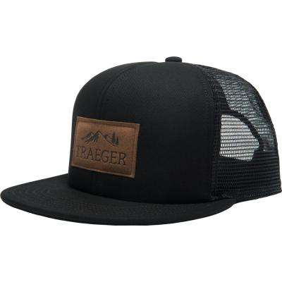 Black Trucker Hat - Adjustable