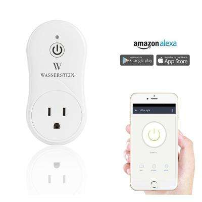 Smart Home Smart Plug Works with Alexa for your Smart Home, Wi-Fi Control All Your Devices
