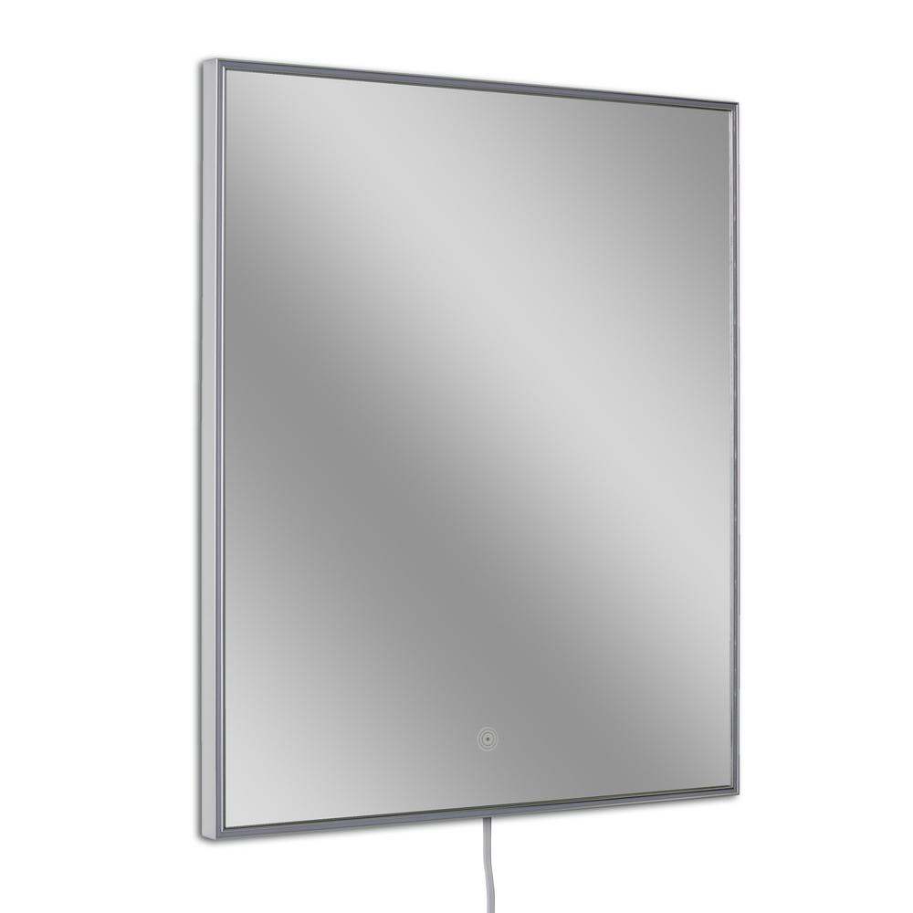 26 in. W x 32 in. H Single Rectangle LED Mirror