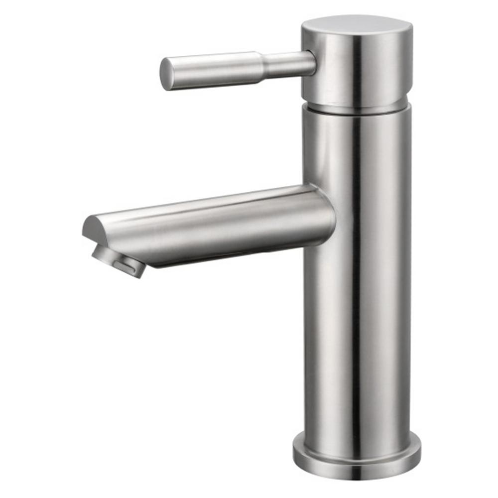 Y Decor Luxurious Single Hole Handle Bathroom Faucet In Brushed Nickel Finish