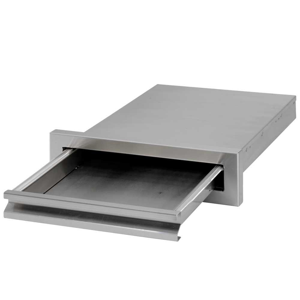 Cal Flame Outdoor Kitchen 15-3/8 in. Storage Built-In Stainless Steel BBQ Griddle Tray