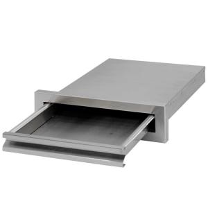 Cal Flame Outdoor Kitchen 15-3/8 inch Storage Built-In Stainless Steel BBQ Griddle Tray by Cal Flame