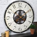 27 in. Multi-Color Oversized Carlisle Gears Wall Clock