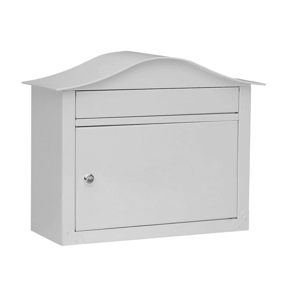 Architectural Mailboxes Lunada Pearl Gray Wall-Mount Mailbox-DISCONTINUED