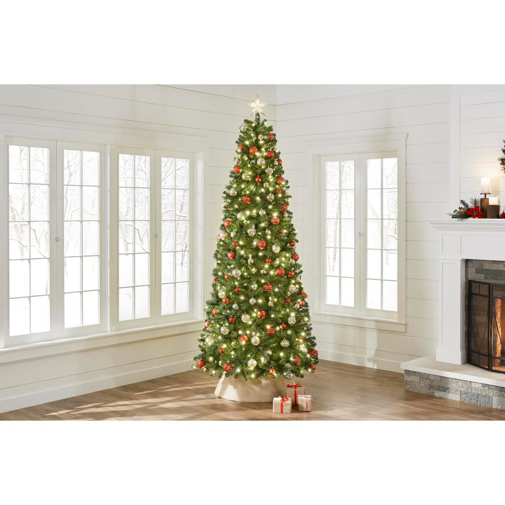 Artificial Christmas Tree Assembly Instructions.Home Accents Holiday 9 Ft Pre Lit Led Grand Duchess Slim Pine Artificial Christmas Tree With 450 Warm White Lights