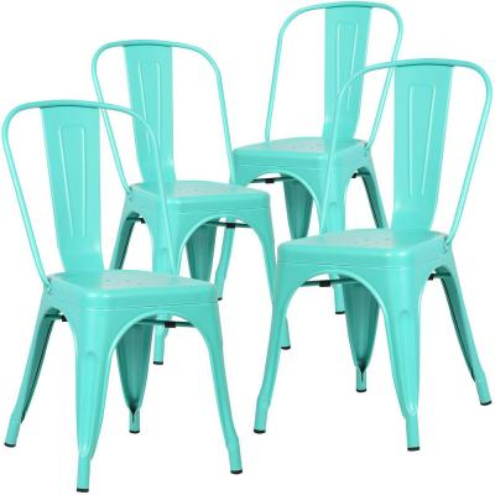Trattoria Aqua Side Chair (Set of 4)